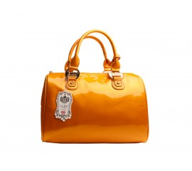 Handtas Gold Orange - LYDC London