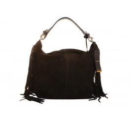 Shopper Black Franjes - Marco Venezia